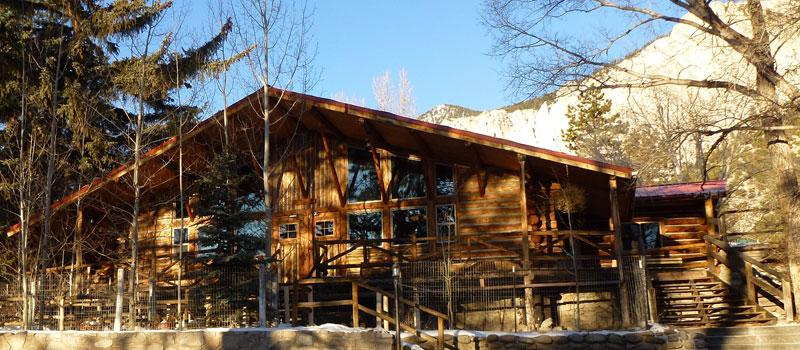 Silver Cliff Ranch - Main Lodge